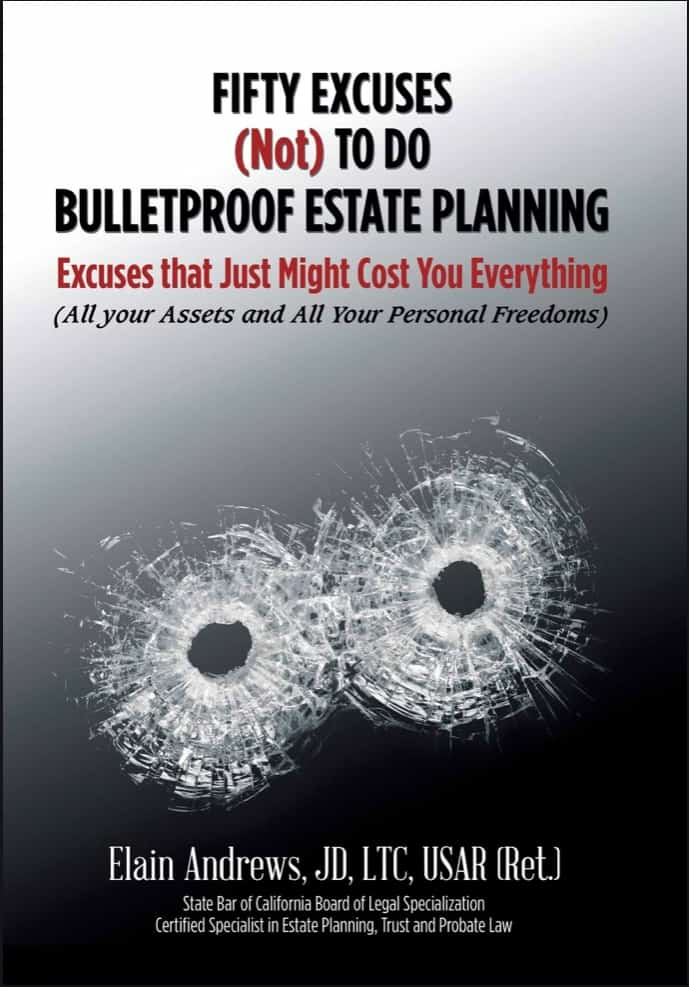 50 excuses not to do bulletproof estate planning book cover